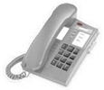 8004 - Single Line Analog Phone - Platinum