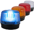 Powerful Amber Strobe Light for Telephone Event Alerting  with Power Supply