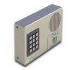 VoIP Intercom with Keypad (Flush-Mounted) (Standard Color, RAL 9003, Signal White)