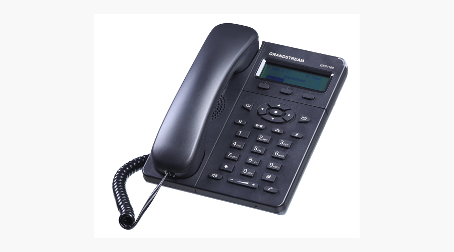 Small-Medium Business IP Phone with integrated PoE