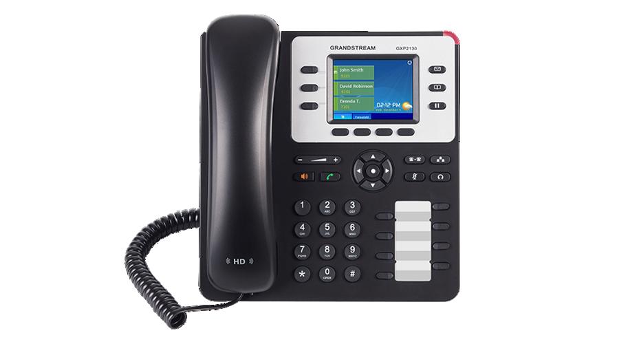 GXP2130 3-Line Enterprise HD IP Phone - Includes Power Supply