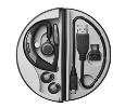 MOTION UC Headset w / Microsoft Lync - TRAVEL & CHARGE KIT