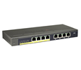 GS108PE ProSAFE Plus 8-PORT Gigabit Ethernet Switch with PoE
