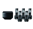 TGP500 SIP DECT Phone Cordless Base Bundled with 5 Handsets