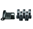 TGP550 SIP DECT Phone Corded / Cordless Base Bundle with 5 Handsets