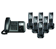 TGP550 SIP DECT Phone Corded / Cordless Base Bundle with 6 Handsets