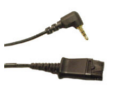 2.5mm Quick Disconnect Adapter Cable for SpectraLink Headsets