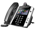 VVX 600 16-line Business Media Phone with built-in Bluetooth and HD Voice  - PoE