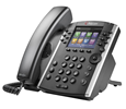 VVX 400 12-line Desktop Phone with HD Voice. PoE without Power Supply